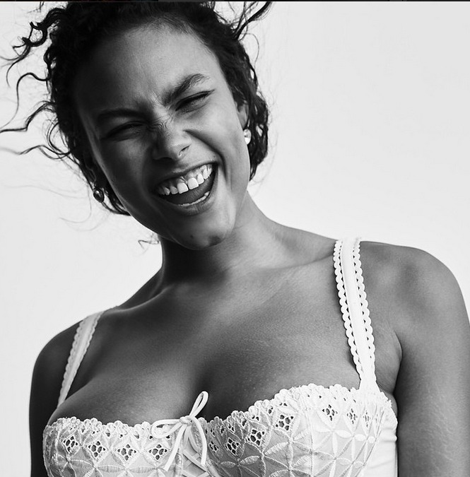 Vogue Features Plus-Sized Models in Inspiring Lingerie Shoot
