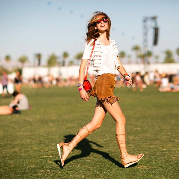 The Best Celebrity Fashion From Coachella 2015