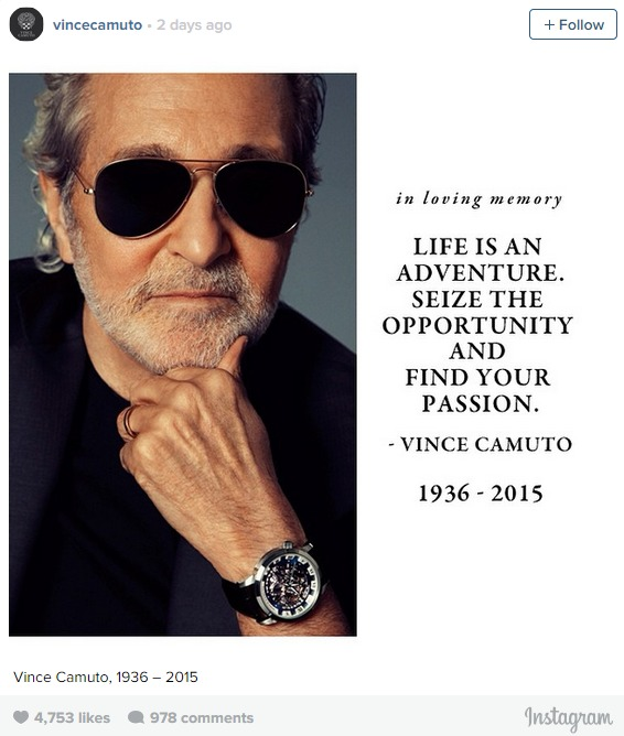 Footwear Legend Vince Camuto Has Died