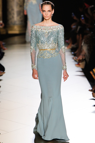Fall 2012 couture elie saab and valentino for Couture clothing definition