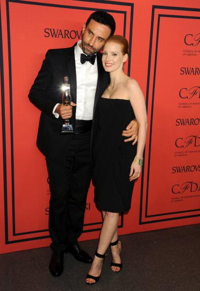 2013 CFDA FASHION AWARDS Underwritten By Swarovski - Backstage