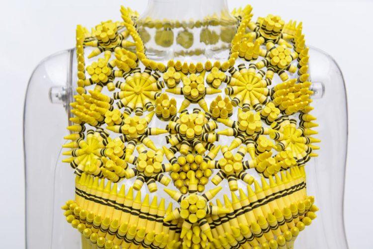 "Nanette Lepore's ""unmellow yellow"" Crayola dress"