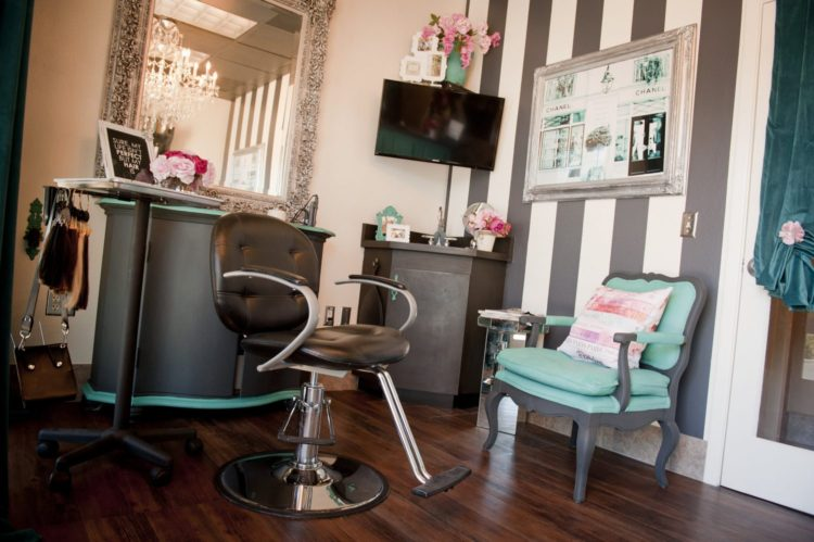 Inside Ashley's Hair Extension Studio in Scottsdale
