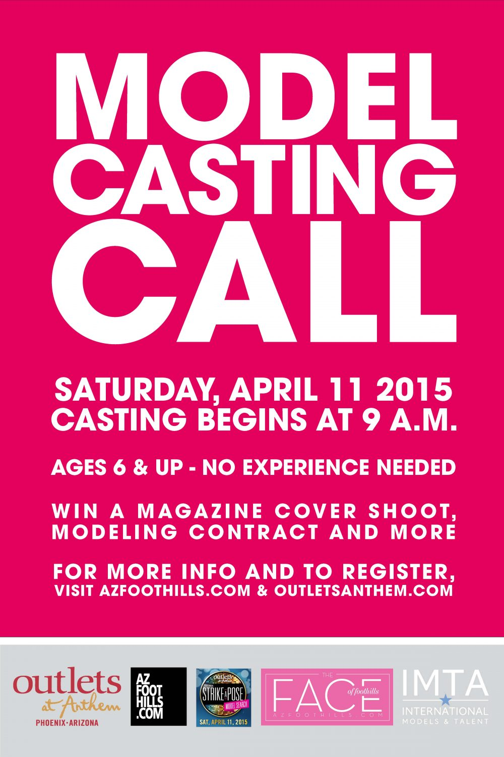 Casting Call Poster FOF OAA