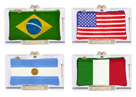 Charlotte Olympia Wins With World Cup-Inspired Clutches