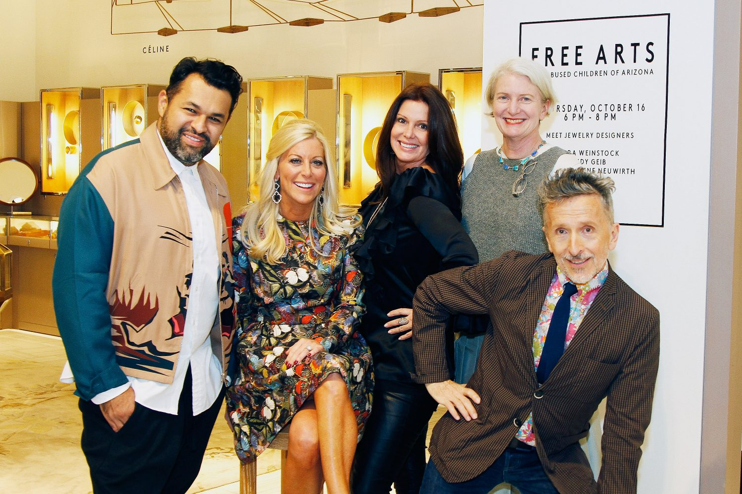 AFM Shops With Barneys New York Designers for a Cause