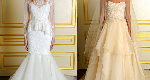 Marchesa Reworks the Traditional Wedding Dress for the Modern, Fashionable Bride
