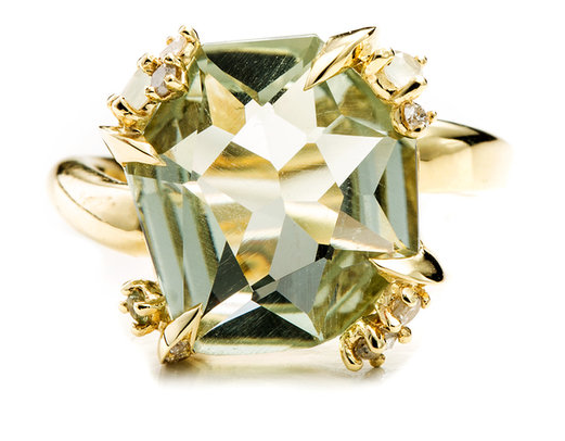 Fine Water Marquis Fancy Cut Ring, $1,995