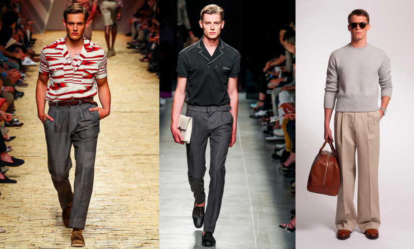 Men's Fashion Trends for Spring and Summer 2014