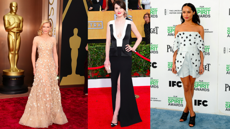 Those who made Vanity Fair's International Best-Dressed List included Cate Blanchett, Michelle Dockery and Zoe Kravitz