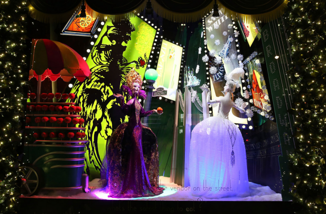 The Most Spectacular Holiday Window Displays of the Season