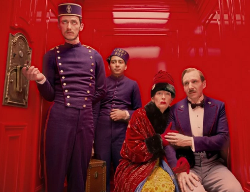 """The Grand Budapest Hotel"" is up for Best Picture"