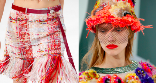Chanel Couture's Magical Garden Party