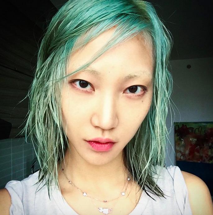 Soo Joo Park. Picture: Instagram @soojmooj