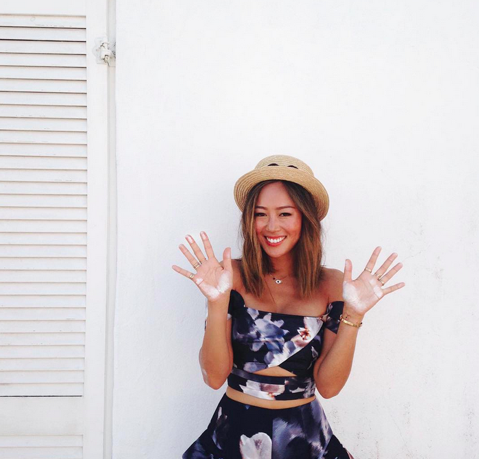 Aimee Song. Picture: Instagram @songofstyle