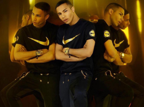 Olivier Rousteing & Nike Collaborate on NikeLab Collection