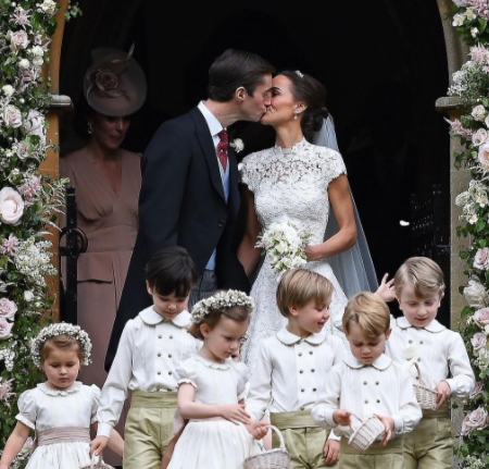 All About Pippa Middleton's Gorgeous English Wedding