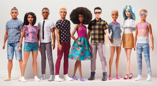 Barbie's Ken Gets a Makeover (Or 15), Man Bun Included