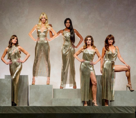 '90s Supermodels Made a Comeback on the Versace Runway