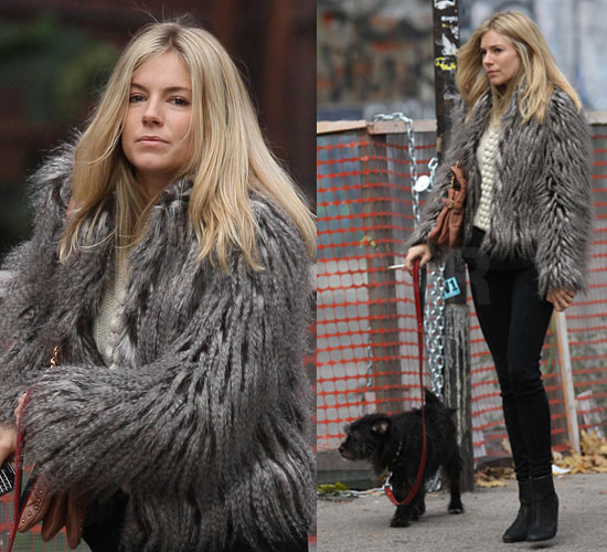 Take a style cue from Sienna Miller.