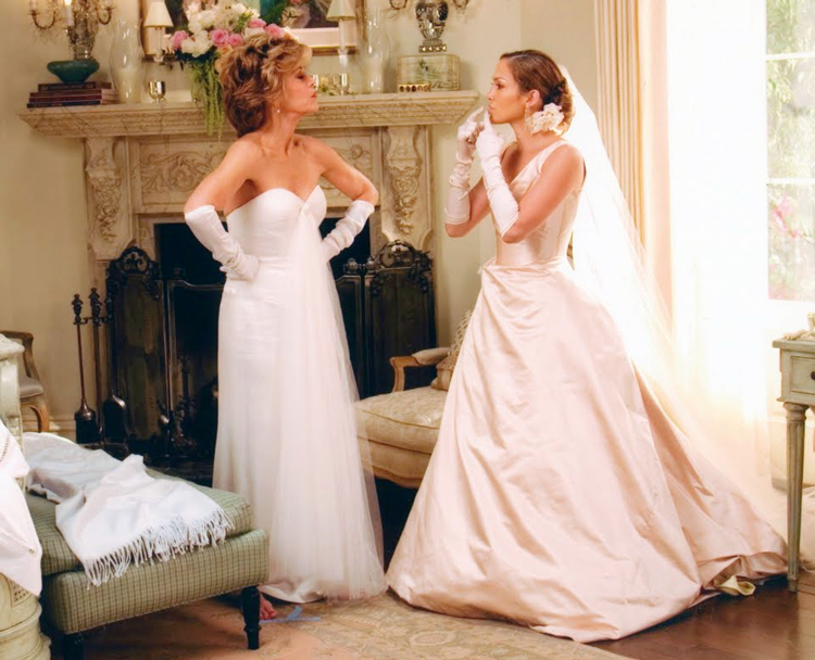 Gallery For Jennifer Lopez Wedding Dress Monster In Law