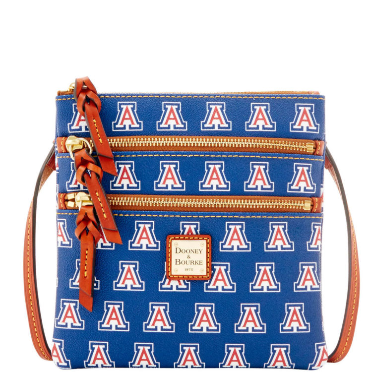 NCAA Arizona Triple Zip Crossbody: $128