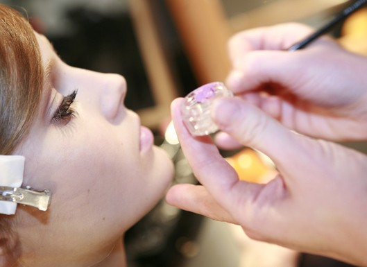 Backstage Beauty Milan Fashion Week – Alberta Ferretti, D&G, Fendi
