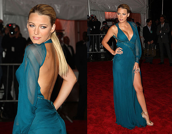 blake lively in versace gown