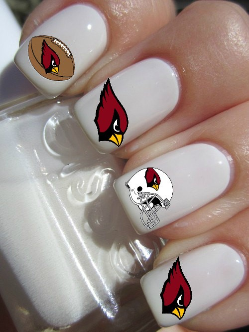 Cheer On Your Team With Az Football Inspired Nail Art Style Files