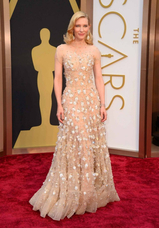 All the Best Looks from the Oscars Red Carpet. was a total showstopper in this elegant Reem Acra gown with epic sleeves. Red Carpet Fashions; The Most Scandalous Dresses at the Oscars;.