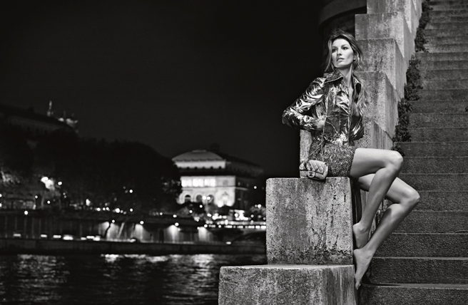 Gisele Bundchen Goes to Paris in New Chanel Campaign