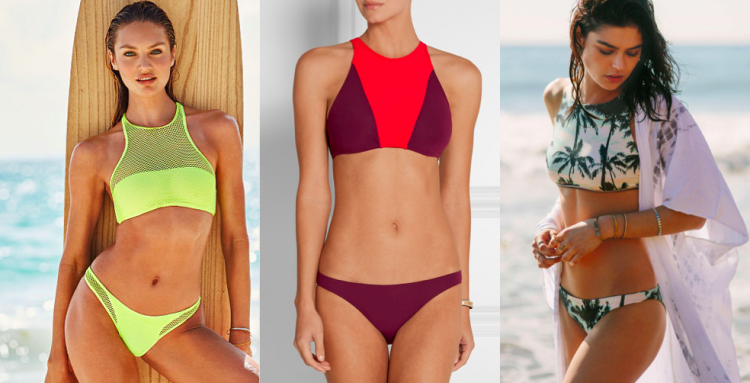 From L to R: Victoria's Secret, Flagpole Swim, Billabong