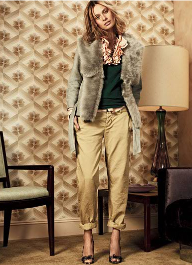 Cuffed pants from J.Crew