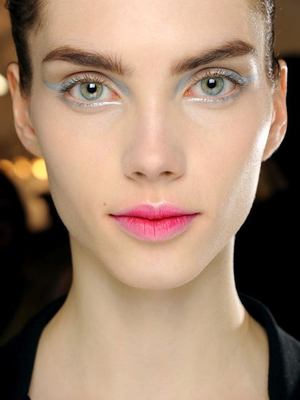 Fun pink ombre lips at Dior