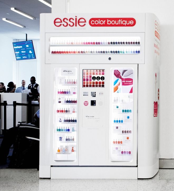 Essie Launches Nail Polish Vending Machines