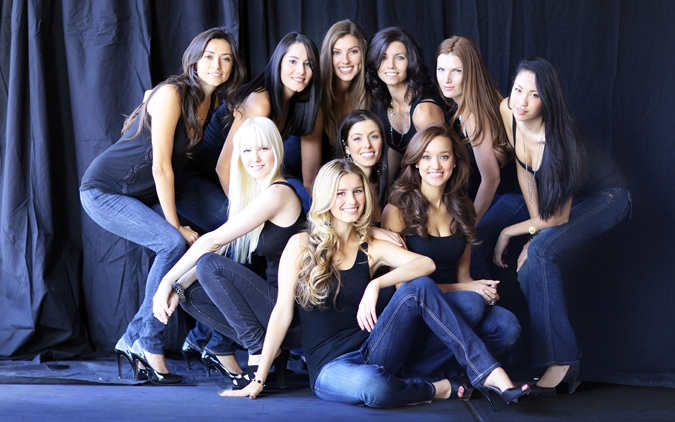 Stephanie and The Face of Foothills Contestants