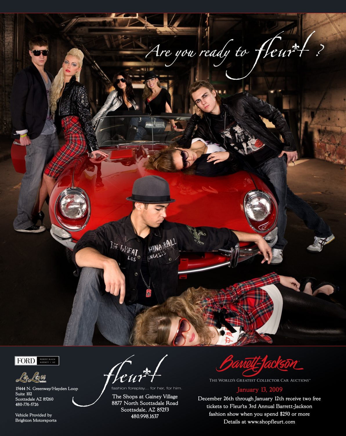 Fleur't Boutique's 3rd Annual Barrett-Jackson Fashion Show