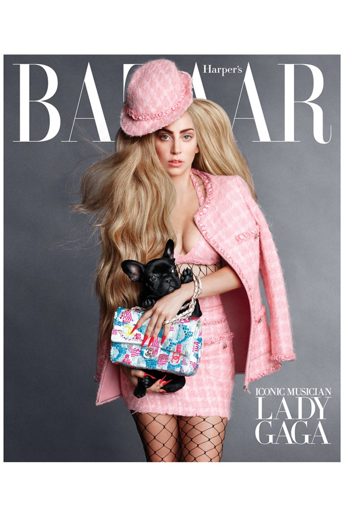 Major Celebs Cover Harper's Bazaar September Issue