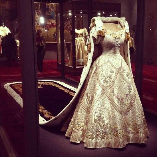 Queen Elizabeth 2 Coronation Gown