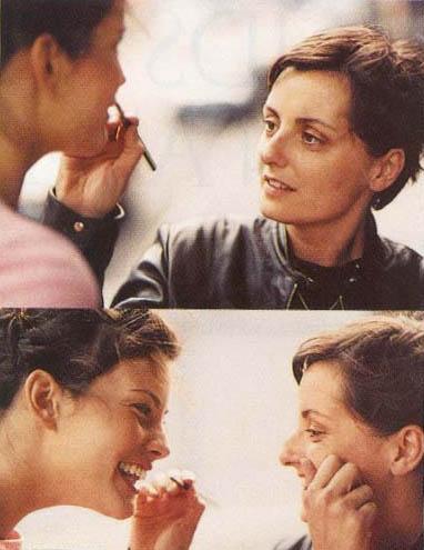 Jeanine Lobell and Liv Tyler