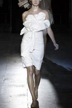 japanese-paper-strapless-dress