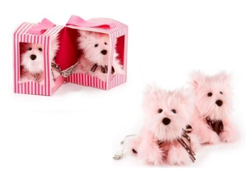 Juicy Couture Plush Dog MP3 Speakers