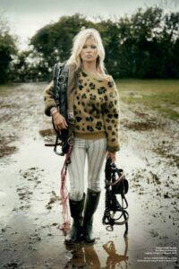 Kate Moss V magazine