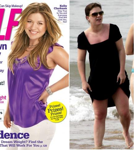 Kelly Clarkson Self Magazine