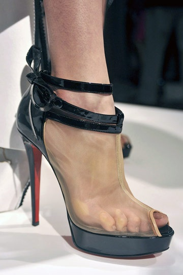 Louboutin for Marchesa