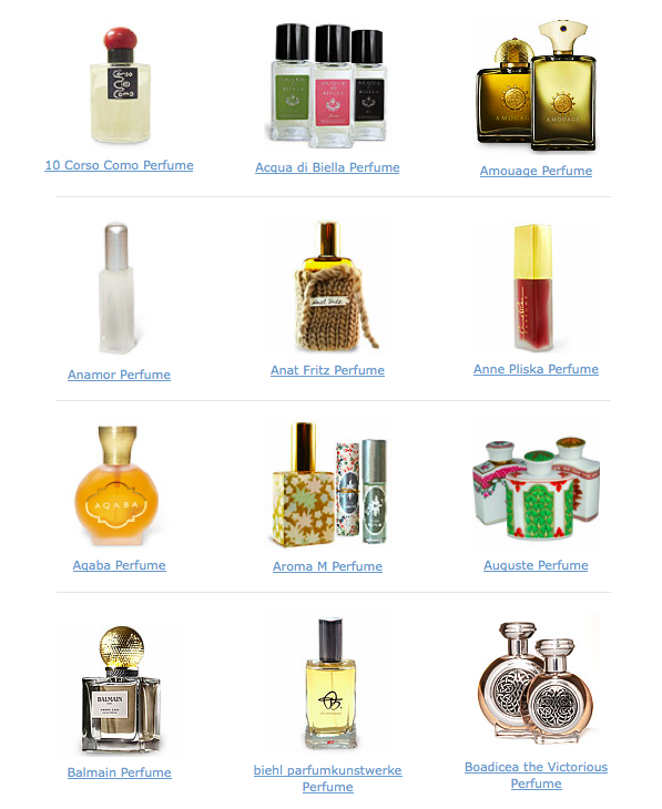 Fragrance from luckyscent.com