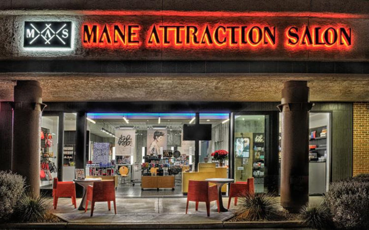 Mane attraction salon honors teachers with 50 off for Attractions salon