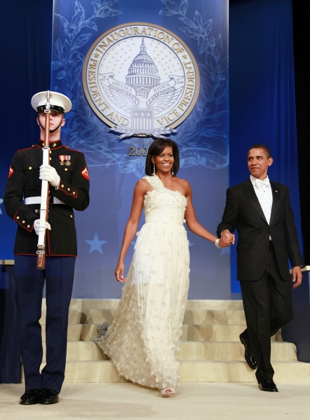 Michelle Obama's Inauguration Ballgown