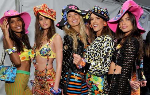 Getting in the Groove: Moschino's '60s L.A. Resort Party