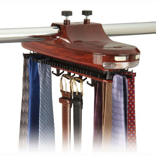 motorized-revolving-tie-rack